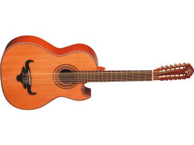 Oscar Schmidt OH50S-NT Bajo Sexto Latin Guitar, natural, inkl. Gigbag