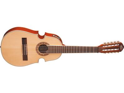 Oscar Schmidt OQ40SE-NT Cuatro Latin Guitar, natural, inkl. Gigbag