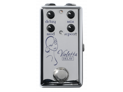 Red Witch SSV002 Violetta Delay 1000ms, Seven Sisters, Chrome Series